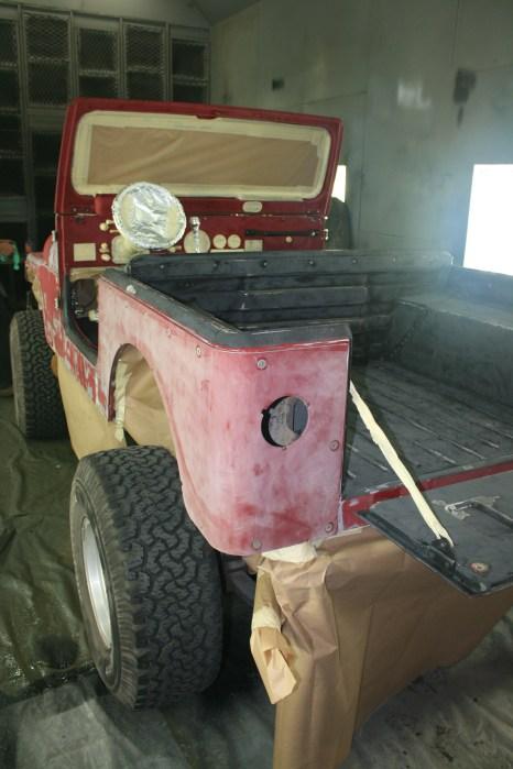 Masking Jeep