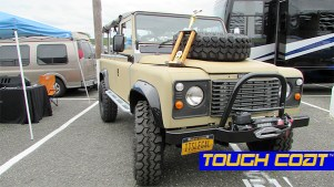 1983 Range Rover Defender at MILSPRAY® Booth at Englishtown Swamp Meet.