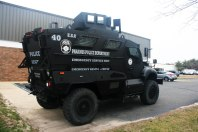 Mine Resistant Ambush Protected (MRAP) Vehicle Paramus