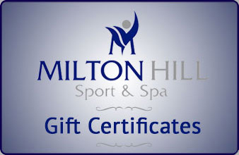Milton Hill Sport & Spa gift certificates