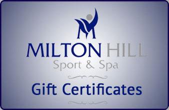 Milton Hill Sport & Spa gift certificates