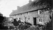 Milton cottages around 1900