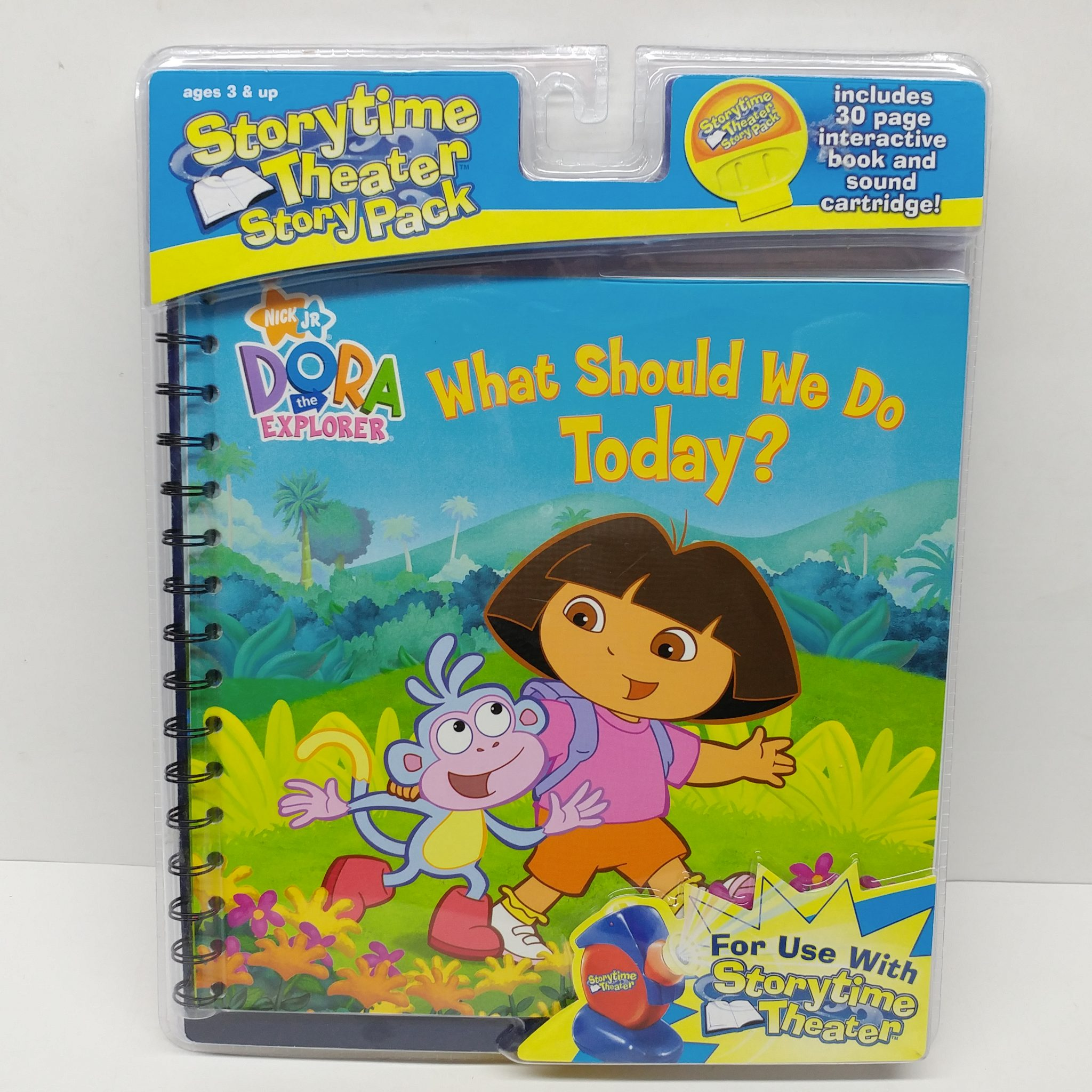 Storytime Theater Story Pack Dora The Explorer What Should
