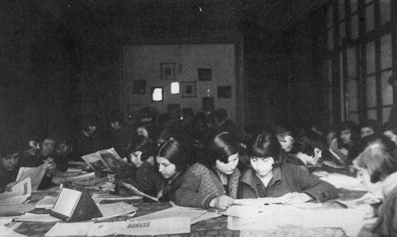 Το αναγνωστήριο του Διδασκαλείου Θηλέων Θεσσαλονίκης