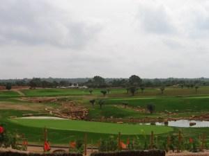 SON GUAL Golf v Palma de Mallorca se zakládal s použitím Biovinu.