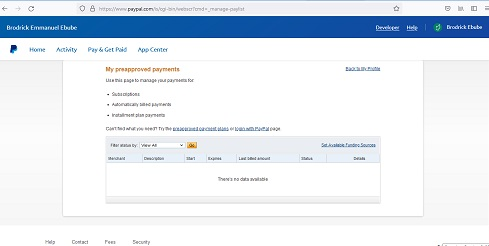how to stop recurring payments on debit card for PayPal