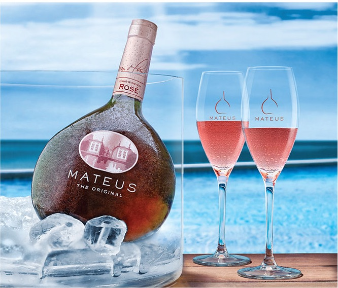Portugali vanim roosa vein - Mateus - MilVinhos
