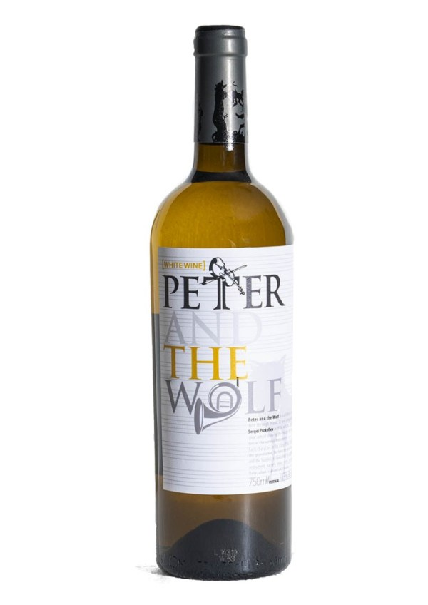 Peter and the Wolf, Petja ja hunt, valge vein