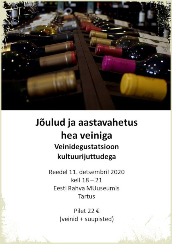 veinidegustatsioon tartus