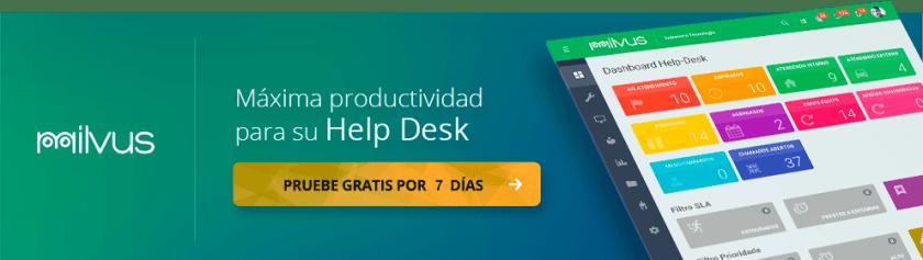 rendimiento sistema de llamadas help desk