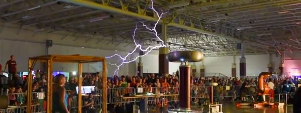 The Milwaukee Tesla Coil Builders