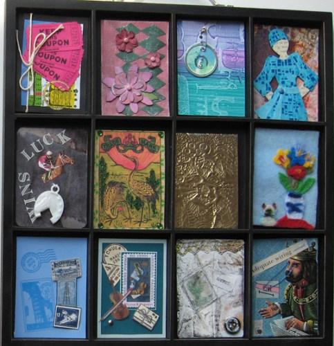 Artist Trading Card (ATC) Make & Take