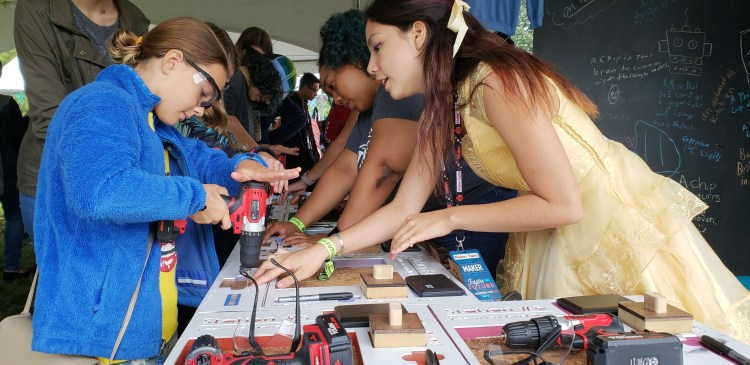 Princesses with Power Tools: Learn to Hand Drill