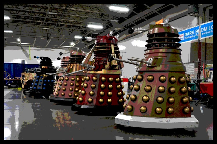 Largest Gathering of Daleks (Guinness World Record Attempt!)