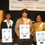 The United States Postal Service honors three African American Milwaukee women
