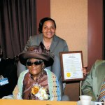 Mrs. Thrya Edwards celebrates her 100th Birthday