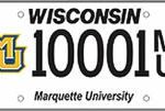 Marquette University and DOT announce MU license plate