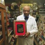 Dr. Lester L. Carter, Jr. honored with The James Baker Award
