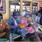 African American artist exhibit opening a huge success