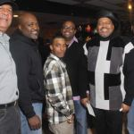 Friends and family joined in on the retirement festivities for LaMonte Allen