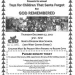 Toys for Children That Santa Forgot But God Remembered