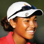Youngest African American female professional golfer at 18