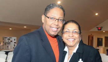Bishop Stokes and his wife Annette also participated in the 4th Black Marriage Day Event held at The Brentwood Church of Christ Church which was part of the National Black Marriage Day Weekend. (Photo by Robert A. Bell)