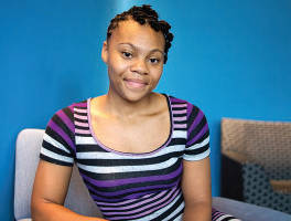Rashema Melson (photo by Meredith Rizzo/NPR)