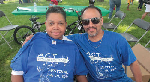 ACT Festival goers