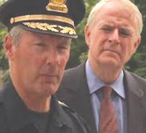Milwaukee Police Chief Ed Flynn and Mayor Tom Barrett