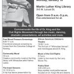 Celebrate the Arts at Milwaukee Public Library on Martin Luther King Day