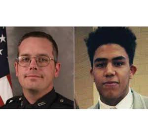 Officer Matt Kenny and Tony Robinson