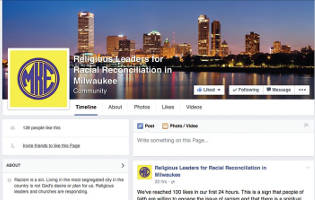 Religious Leaders for Racial Reconciliation FaceBook page