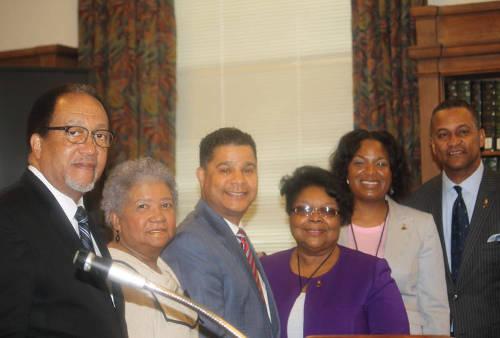 Dr-Benjamin-Chavis-Dorothy-Leavell-Mary-Denson-Cloves-Campbell-Jr-NNPA-Black-Press-Week