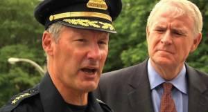 Chief Edward Flynn and Mayor Tom Barrett