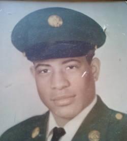Vietnam veteran James Calvin Ward