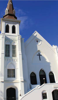 Mother Emanuel Methodist Episcopal Church, where nine people were killed by Dylann Roof.