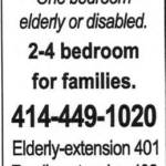 Affordable Housing for Elderly, Disabled and Families