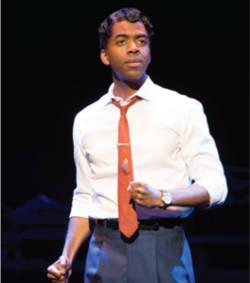 Julius Thomas III as Berry Gordy Motown the Musical First National Tour (C) Joan Marcus, 2015