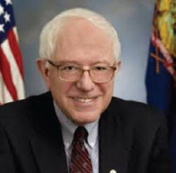 U.S. Senator to Vermont Bernie Sanders.