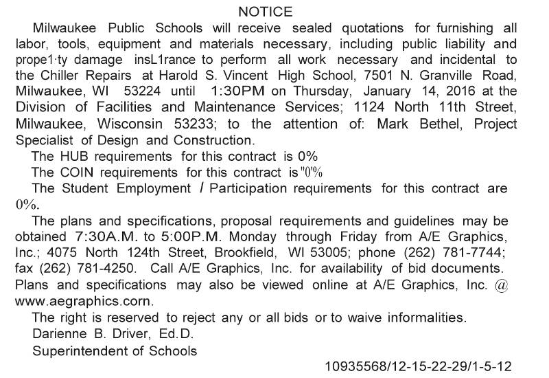 mps-requesting-quotations-chiller-repairs-vincent-high-school