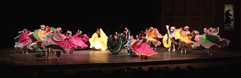 Ballet Folklorico de Hayes. Photo by Marcus Center for Performing Arts.