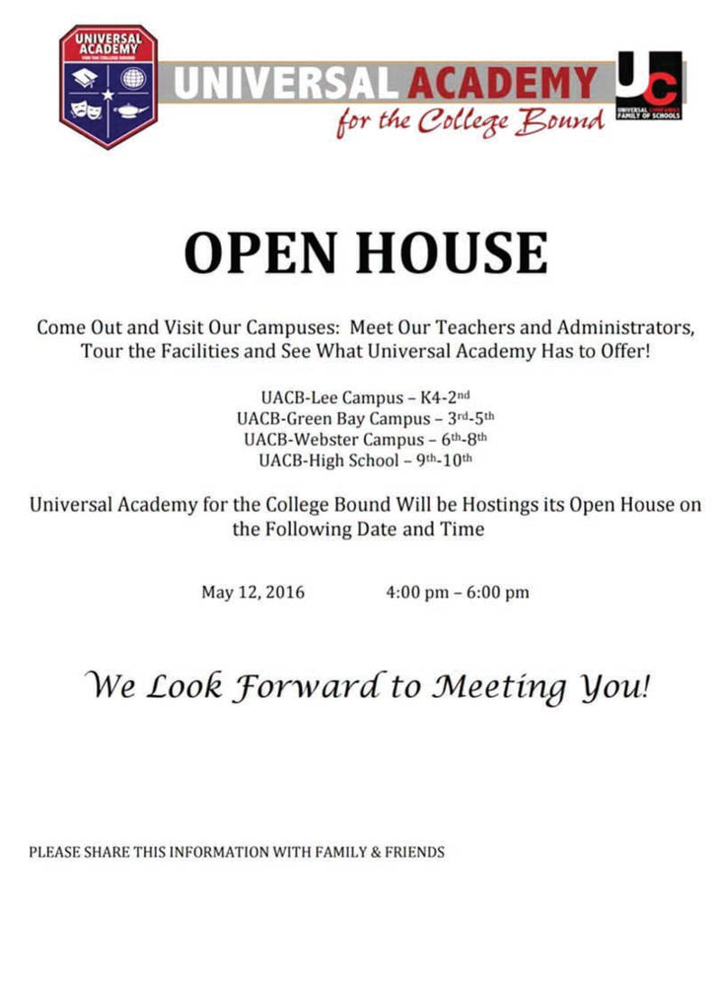 universal-academy-college-bound-open-house-may-12-2016