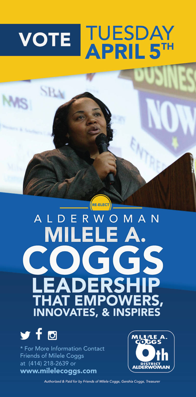vote-april-5-alderwoman-milele-a-coggs-leadership-empowers-innovates-inspires
