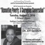 Dismantling Poverty: A Courageous Conversation on Aug 2
