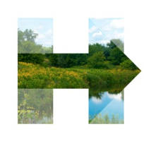hillary-for-wisconsin-logo-arrow-pointing-right-nature-scenes