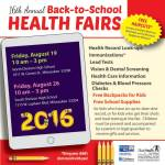 City of Milwaukee Health Department Announces Dates and Locations for 16th Annual Back-to-School Health Fairs