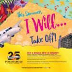 Win A Dream Trip In August!