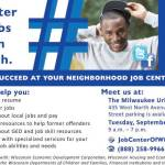DWD Secretary Announces Additional Steps to Support, Strengthen Milwaukee's Workforce