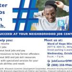 Job Center Access Point Oct 12 at Word of Hope Ministries